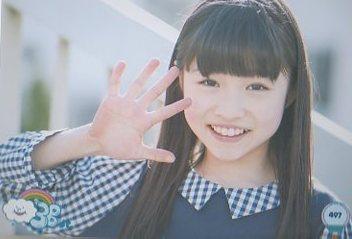 3B junior 生写真 №497 中原咲耶