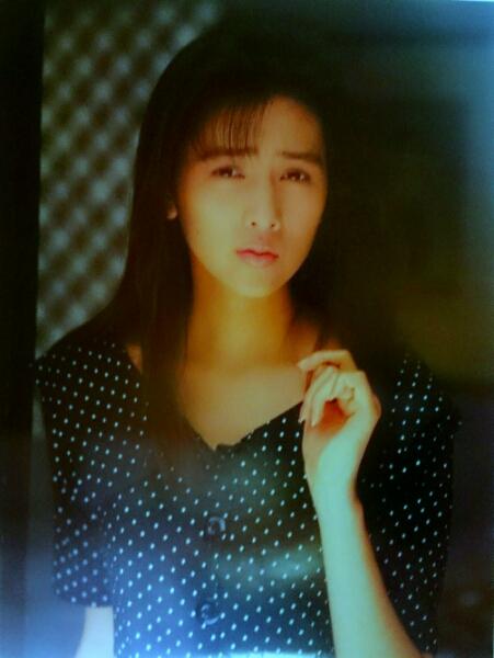 工藤静香 1989年度 カレンダーの1部ポスター