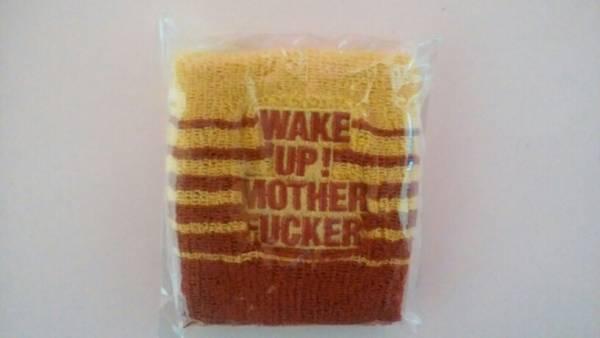 新品未使用 LUNA SEA J WAKE UP! MOTHER FUCKER リストバンド ライブグッズの画像