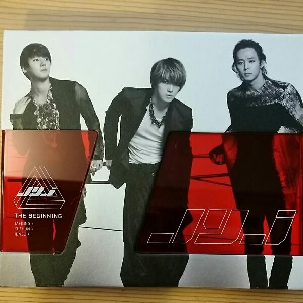 JYJ first Album- The Beginning(韓国盤) CD
