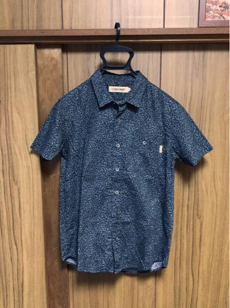 commonware magine アメリカンラグシー レオパードシャツ 44 美品 マージン
