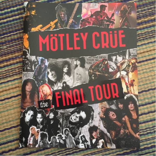MOTLEY CRUE 2015ファイナルツアー パンフレット