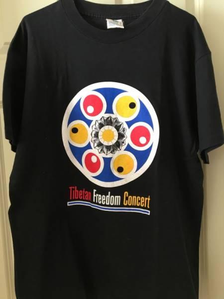Tibetan Freedom Concert チベタン・フリーダム・コンサート 90s ビンテージ オリジナル Tシャツ Beastie Boys Sonic Youth Bjork
