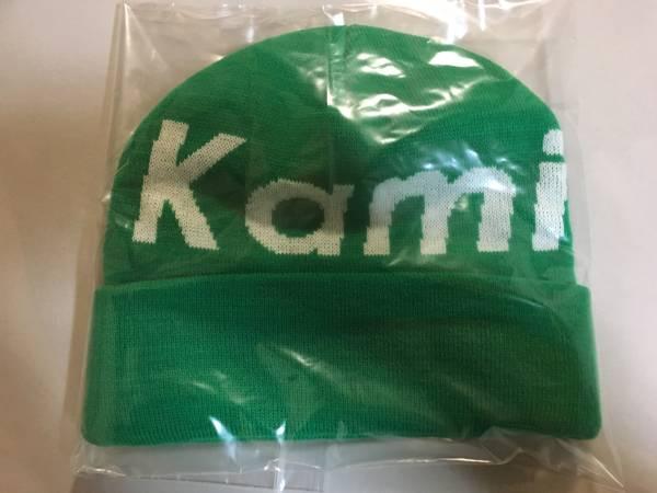 神宿 緑 ニット帽 新品未使用品 関口なほ チェキ2枚付