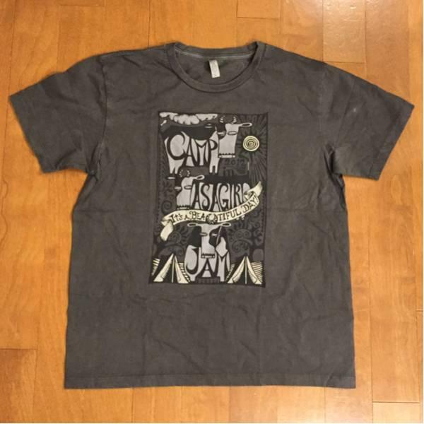 新品 朝霧JAM 2012 牛 Tシャツ XL フジロックFUJIROCK WILKO JOHNSON LEE SCRATCH PERRY fuji rock グレー 灰色 岩盤 canp in asagiri jam