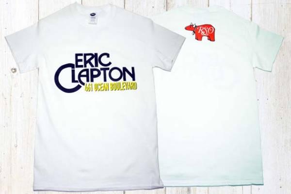 新品 エリッククラプトン O-Bvd スタッフTシャツ Mサイズ ライブグッズの画像