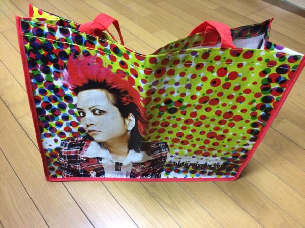 X JAPAN hide トートバッグ!未使用!★赤★