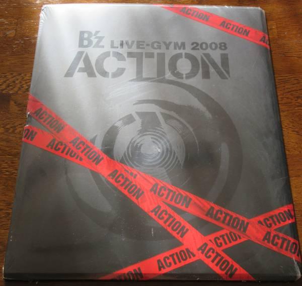 B'z LIVE-GYM2008 ACTION ツアーパンフ未開封
