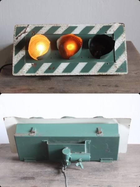 レア 3灯式信号機◆珍品/ヴィンテージ/ライト/看板/工業系_画像3