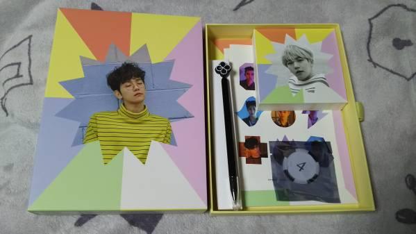 EXO HAPPY LOTTO BOX ベクヒョン トレカなし 公式グッズ