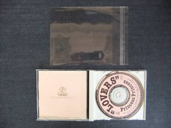 CDアルバム-4   プリンセス プリンセス LOVERS  PRINCESS PRINCESS  ケース用 歌手 音楽 ガールズロックバンド_画像3