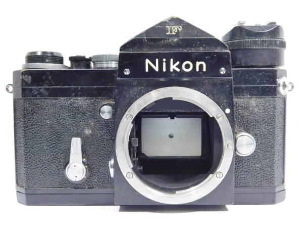 ニコン Nikon F 黒 フィルムカメラ ボディ マニュアルフォーカス_画像2