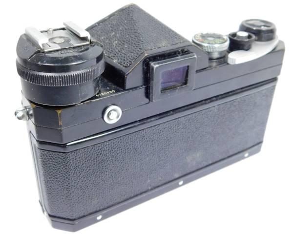 ニコン Nikon F 黒 フィルムカメラ ボディ マニュアルフォーカス_画像3