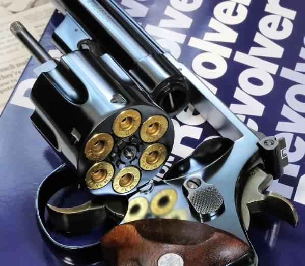 タナカ モデルガンS&W M29 CB 6.5in ブルーイングカスタム