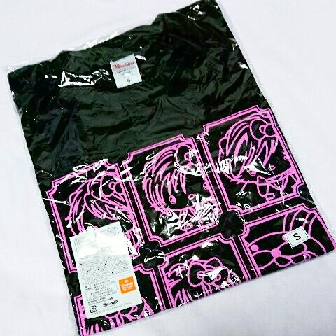 アルスマグナ×ハローキティTシャツ 黒/ブラック Sサイズ ライブグッズの画像