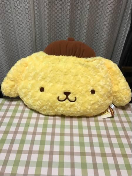 サンリオ ポムポムプリン メガジャンボふわもこクッション☆新品② グッズの画像