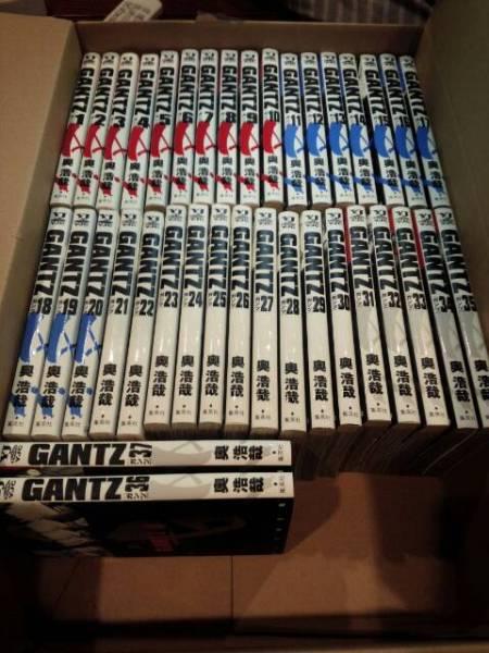 GANTZ ガンツ 1~37巻 全巻 セット☆奥浩哉 集英社 グッズの画像
