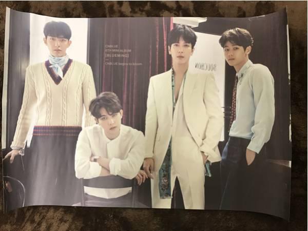 CNBLUE 6th mini ALBUM BLUMINGポスター
