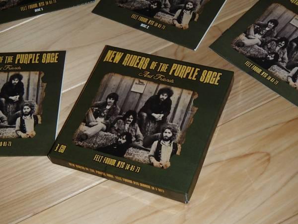 紙ジャケット ニュー・ライダース・オブ・ザ・パープル・セイジ Felt Forum NYC 18-03-73 by New Riders of the Purple Sage