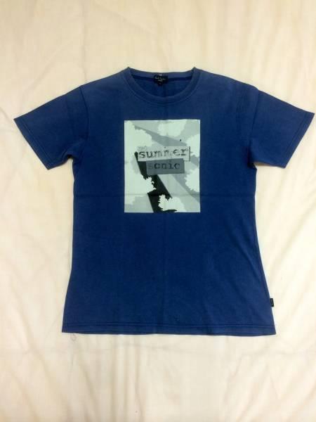 PaulSmith summer sonic 2005年 Tシャツ L ナス紺 ポールスミス サマソニ ライブグッズの画像