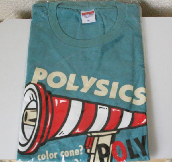 バンドTシャツ ポリシックス POLY COLORPHONE (XL) POLYSICS