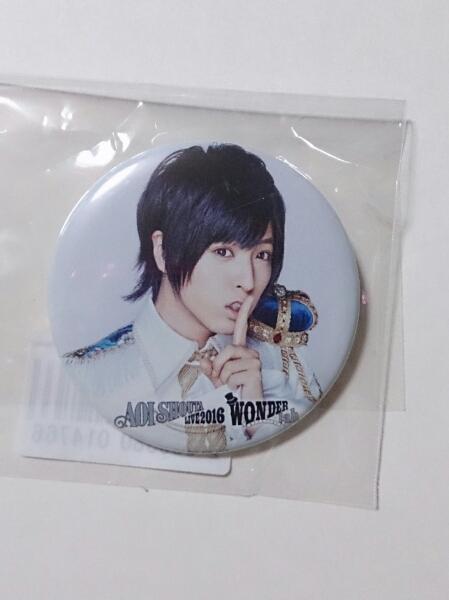蒼井翔太 武道館LIVE DVD WONDER lab. KING e-shop特典 缶バッジ