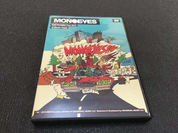 MONOEYES DVD cold reaction tour 2015 中古 ライブグッズの画像