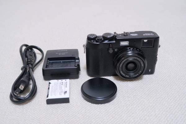 X100T ブラック FUJIFILM富士フィルム 黒 美品