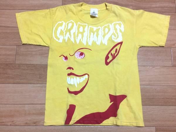 【値下げ】80'S?脱力CRAMPS Tシャツ/ガレージパンク天国 damned clash ramnoes blondie mummies ギターウルフ mad3 5678's