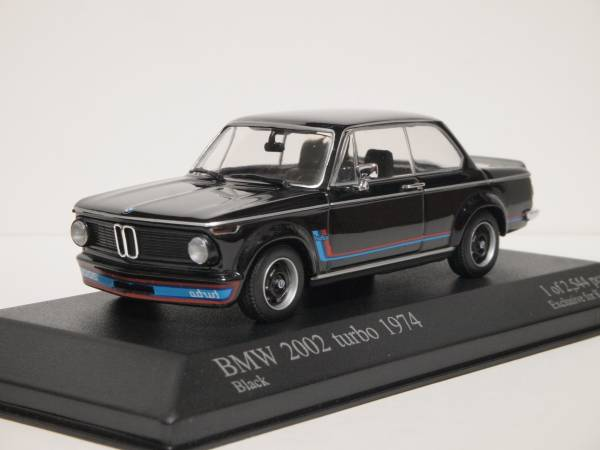 PMA 1/43 BMW 2002 ターボ 1974 黒_画像1