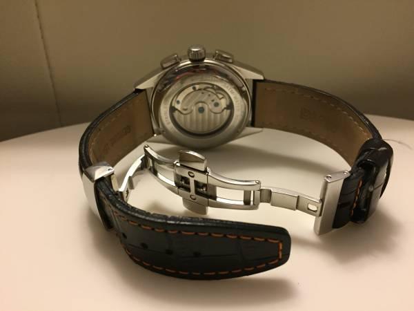 MUTA ムータ 腕時計 レザー Dバング 美品 限定_画像2