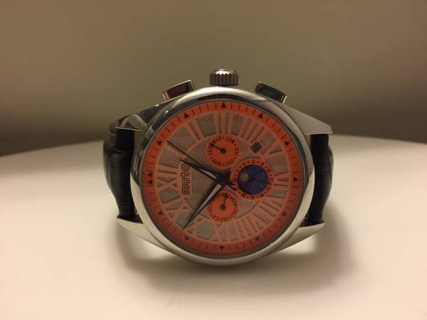 MUTA ムータ 腕時計 レザー Dバング 美品 限定