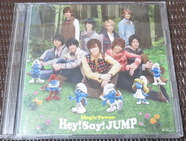 Hey!Say!JUMP CD 初回限定盤1 Magic Power スクールデイズ メイキング DVD