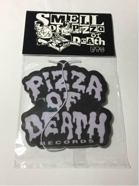 PIZZA OF DEATH エアーフレッシュナー FTC WANIMA ken yokoyama