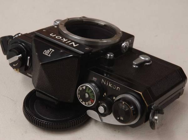 Nikon F アイレベル 702万番台 ■ ブラック/キレイ