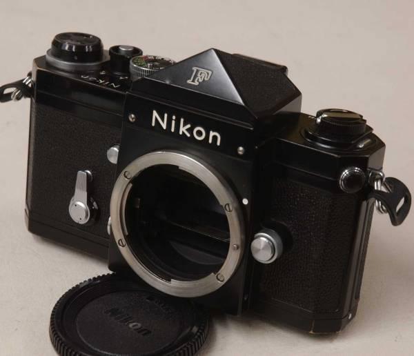 Nikon F アイレベル 702万番台 ■ ブラック/キレイ_画像2
