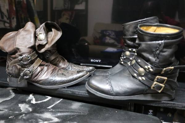 長渕剛愛用ブーツ原型2足