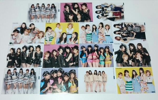 2L 【15枚】 ℃-ute 写真 矢島舞美 中島 鈴木愛理 岡井千聖 萩原