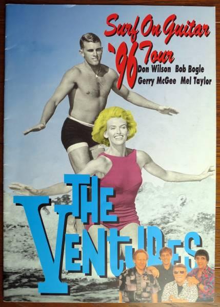 ベンチャーズ◆『Surf On Guitar '96Tour』コンサートツアーパンフレット◆1996年 THE VENTURES
