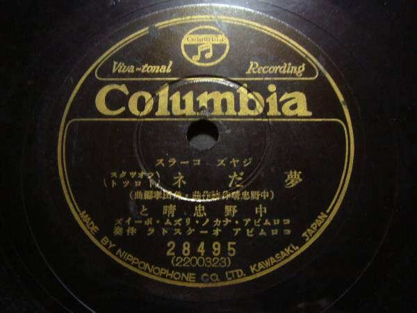 ■SP盤レコード■ホ152(B)ジャズ中野忠晴トーヰウト・トーヰウト_画像2