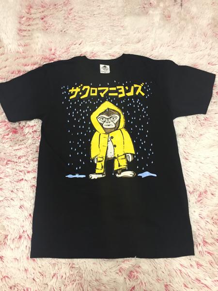 美品 ザ・クロマニヨンズ ピチピチチャップ ツアー限定 Tシャツ M 黒 ライブグッズの画像