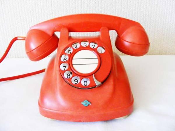 希少品! 『4号自動式委託公衆電話機』 ※公衆赤電話 本物保障