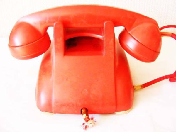 希少品! 『4号自動式委託公衆電話機』 ※公衆赤電話 本物保障_画像3