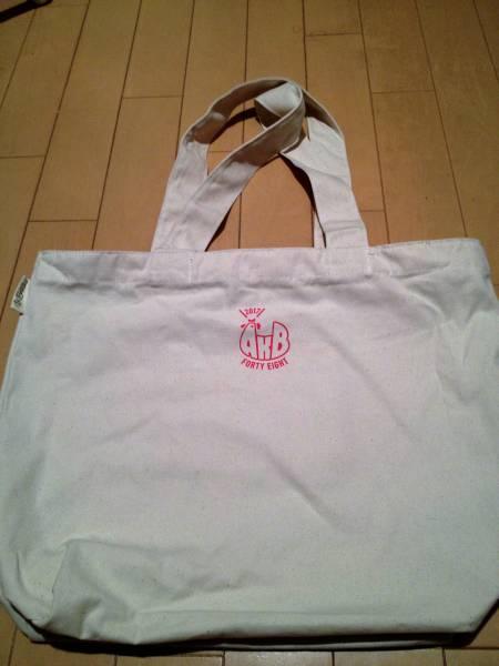 AKB48 2017福袋限定封入 ホワイト(ジップ付トートバッグ) ライブ・総選挙グッズの画像