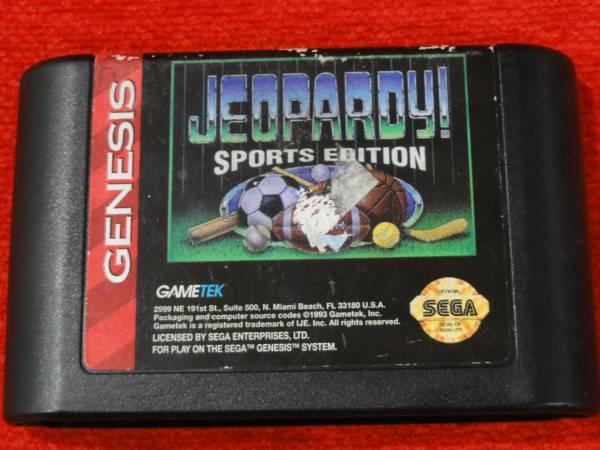 海外MD ジェネシス GENESIS Jeopardy! Sports Edition 国内未発売