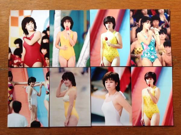 レア☆柏原芳恵写真Lサイズ23枚セット1