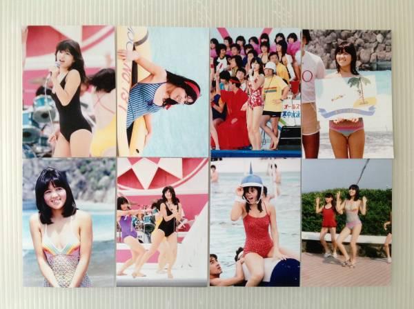 レア☆石野真子写真Lサイズ24枚セット1