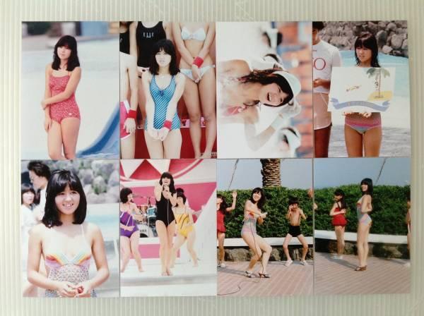 レア☆石野真子写真Lサイズ24枚セット3