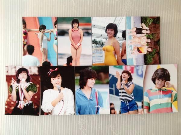 レア☆柏原芳恵写真Lサイズ18枚セット8