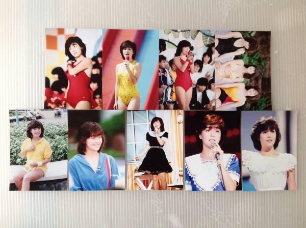 レア☆柏原芳恵写真Lサイズ18枚セット12